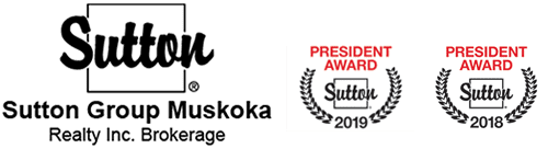 Sutton Group Muskoka Realty Inc., Brokerage - President Award